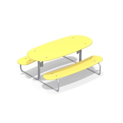 Стол со скамьями детский