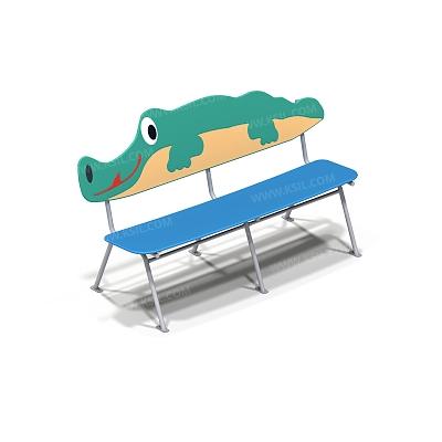 Скамейка детская на металлических ножках