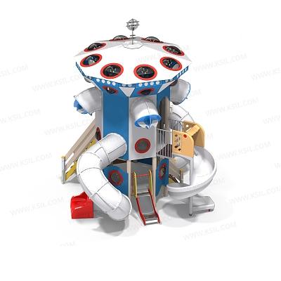 Детский игровой комплекс «Космос центральная часть»