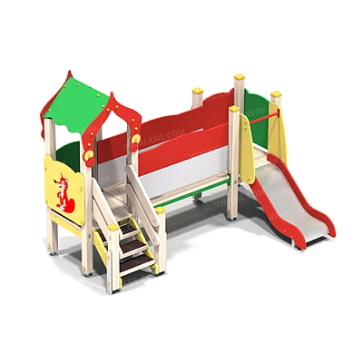 Детский игровой комплекс «Лесная сказка»