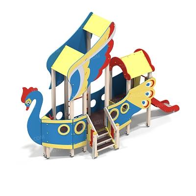 Детский игровой комплекс «Летучий корабль»