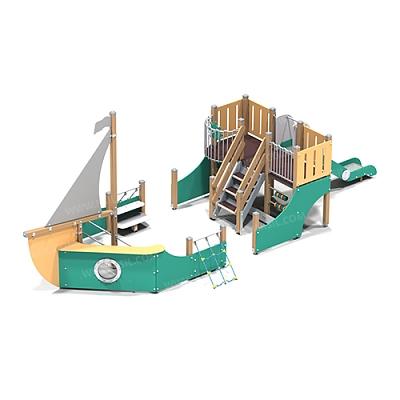 Детский игровой комплекс «Парусник»