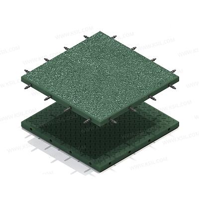 Коврик резиновый (прямой 30 мм)