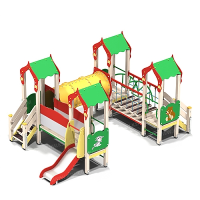 Детский игровой комплекс «Лесная сказка