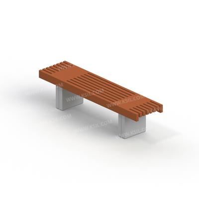 Скамья садово-парковая на железобетонных ножках