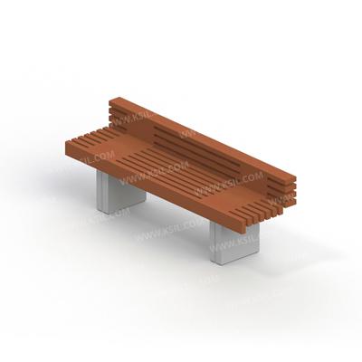 Диван садово-парковый на железобетонных ножках