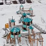 спортивные уличные детские игровые комплексы