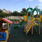 уличный детский игровой комплекс домик воронеж державина