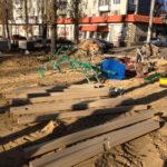 уличные детские игровые комплексы монтаж воронеж грамши