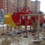 купить детский игровой домик самолет установка
