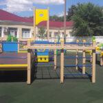 уличный игровой комплекс для детей с ограниченными возможностями