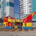 детский игровой комплекс на улице чурсина воронеж