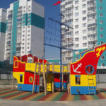 уличный игровой комплекс на улице чурсина воронеж