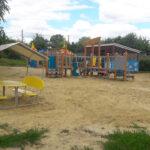 детский игровой домик скамейки комплекс