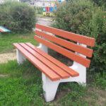уличная скамейка садовая