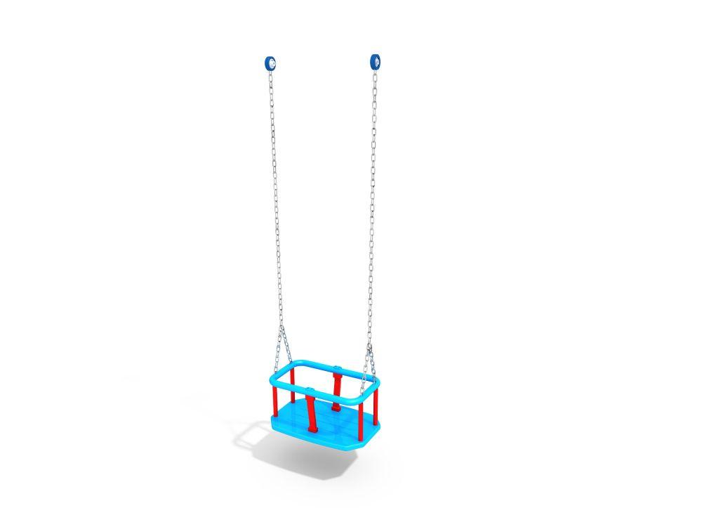 Подвес резиновый на короткой цепи (люлька)