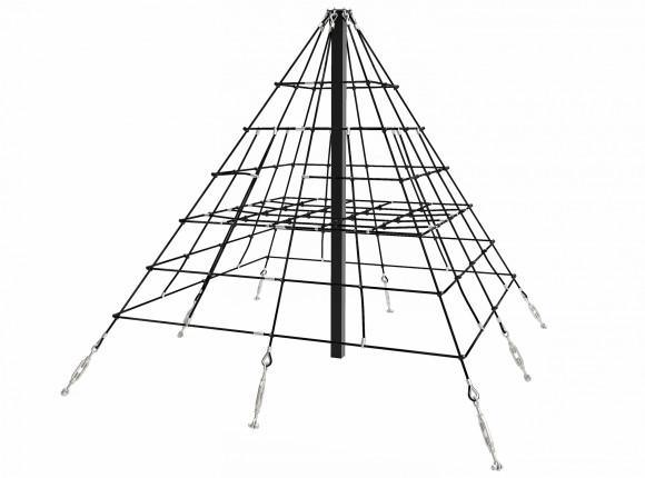 Balance Гимнастическая сетка «ПИРАМИДА»