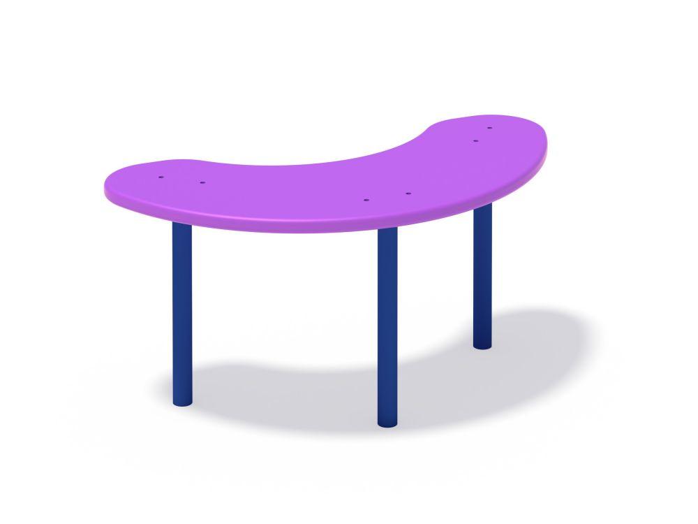 Столик для песочницы овальный (Цветовая схема -с26/8,32