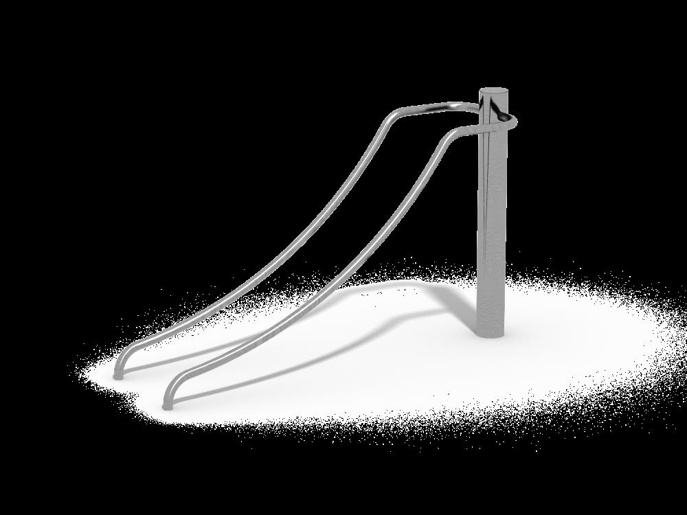 Тренажер Наклонные брусья низкие