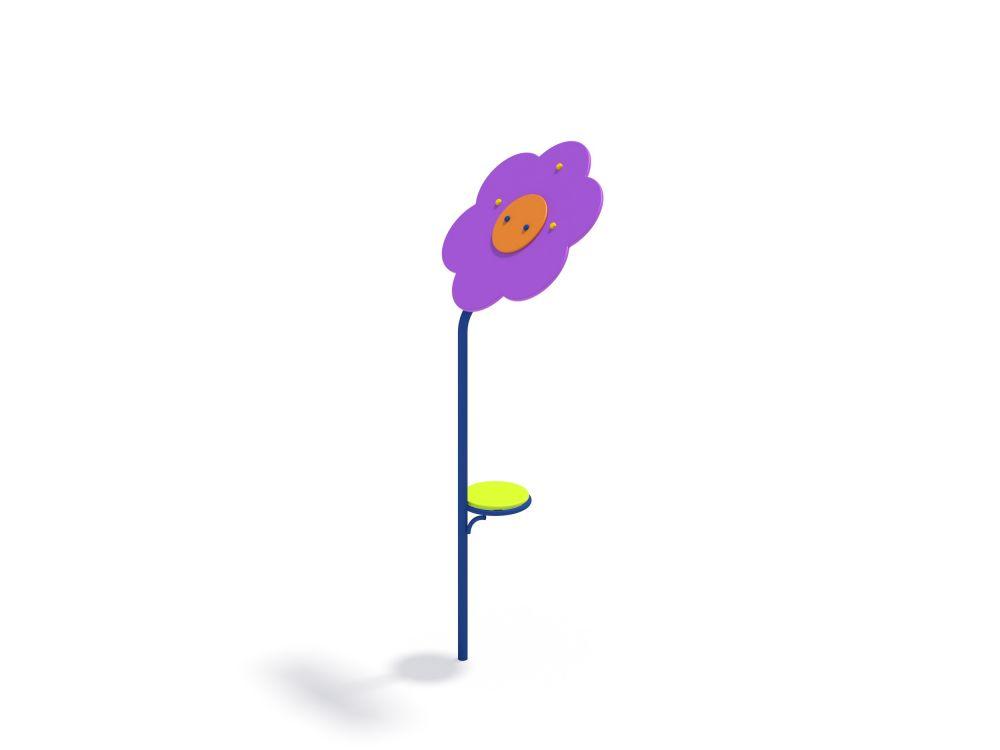 Цветок со столиком (Цветовая схема -с26/8,32)