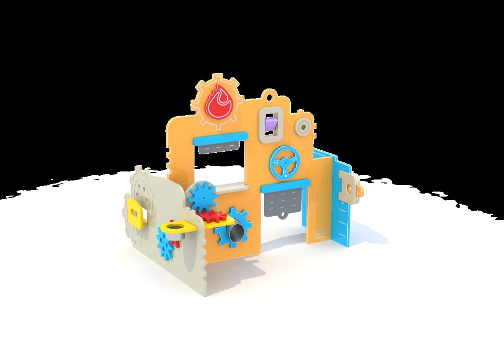 Домик мастерская цинк