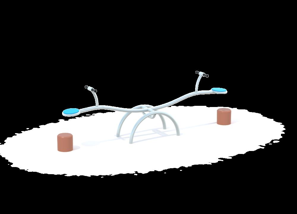 Качалка балансир волна цинк