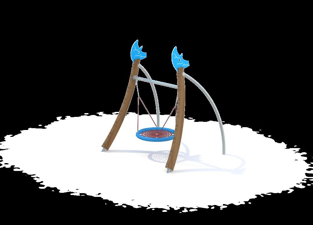Флекс качели гнездо нерж