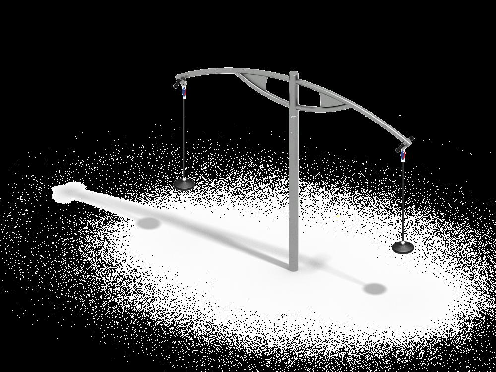 Подвесная карусель цинк