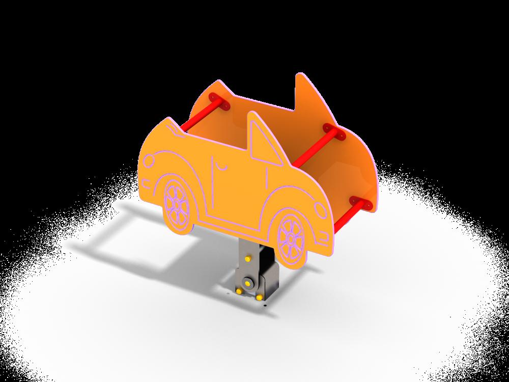 Качалка на шарнире Машинка цинк