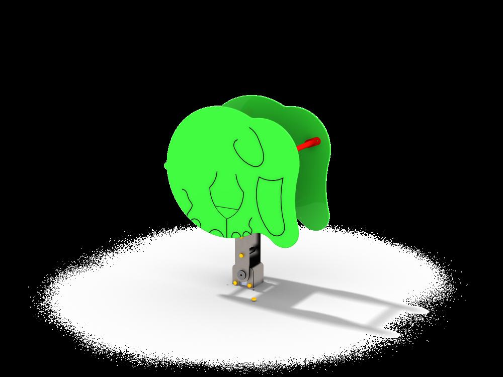 Качалка на шарнире Слоник цинк