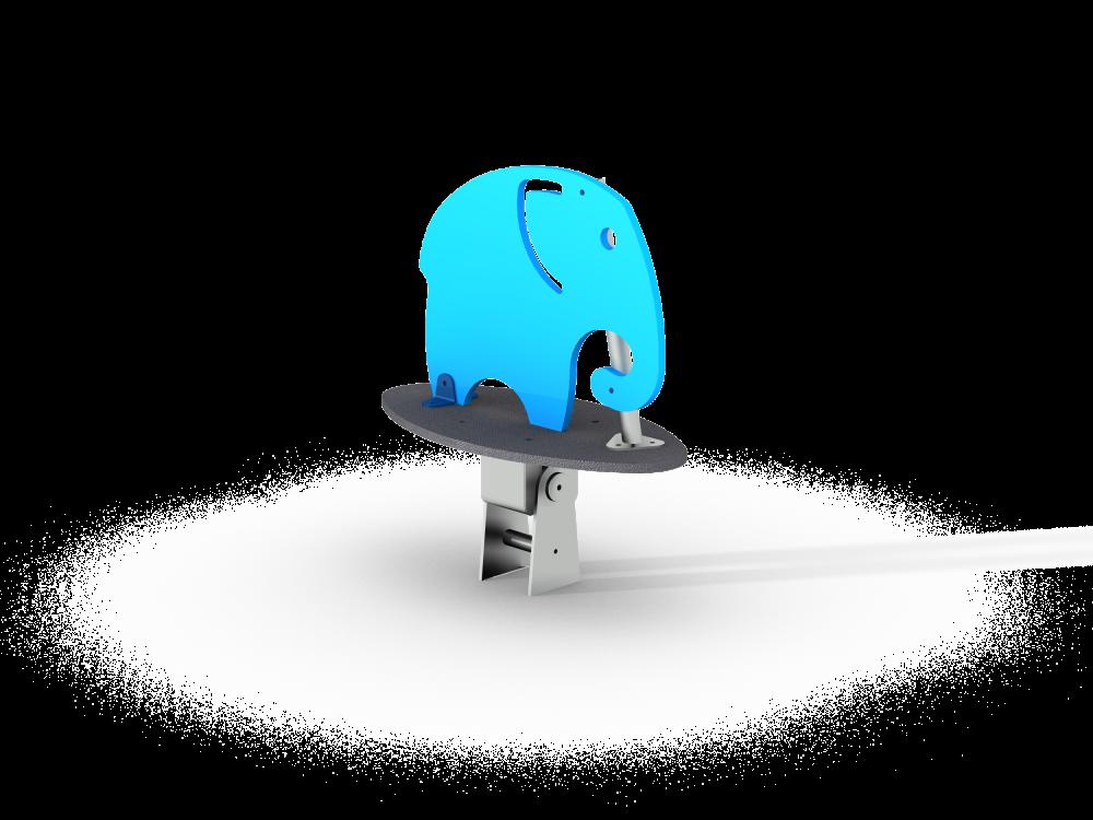 Качалка на шарнире маленький Слоник цинк