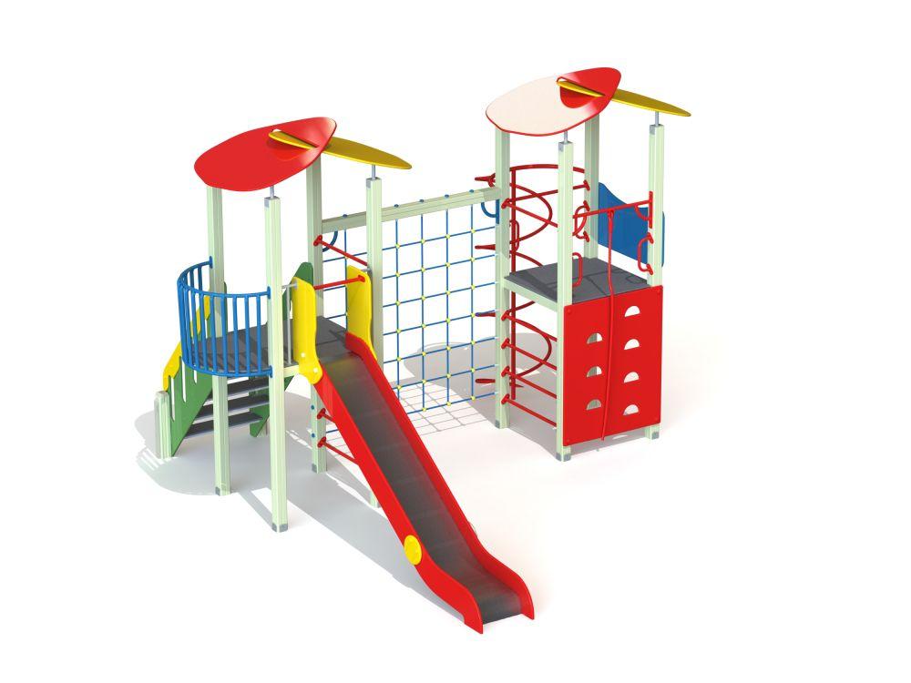 Детский игровой комплекс Н=1500 мм (Цветовая схема -11,32