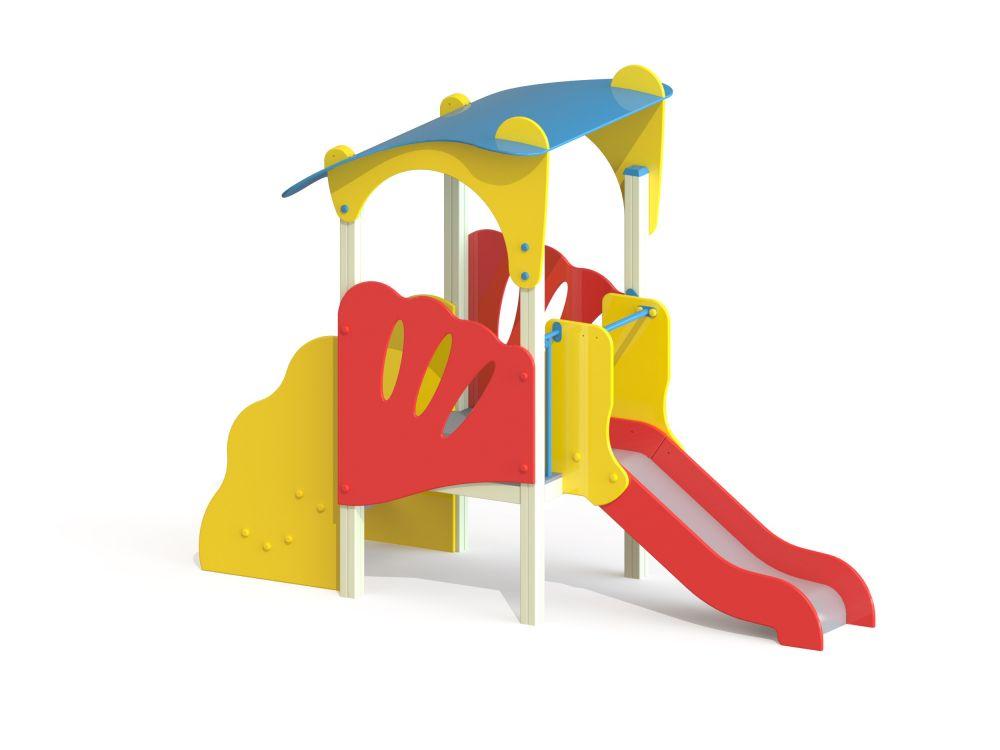 Детский игровой комплекс горка Н=700 (Цветовая схема -16)