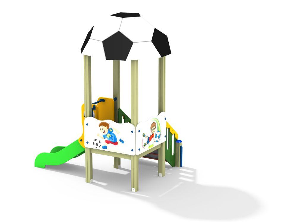 Детский игровой комплекс Н=700 (-Цветовая схема