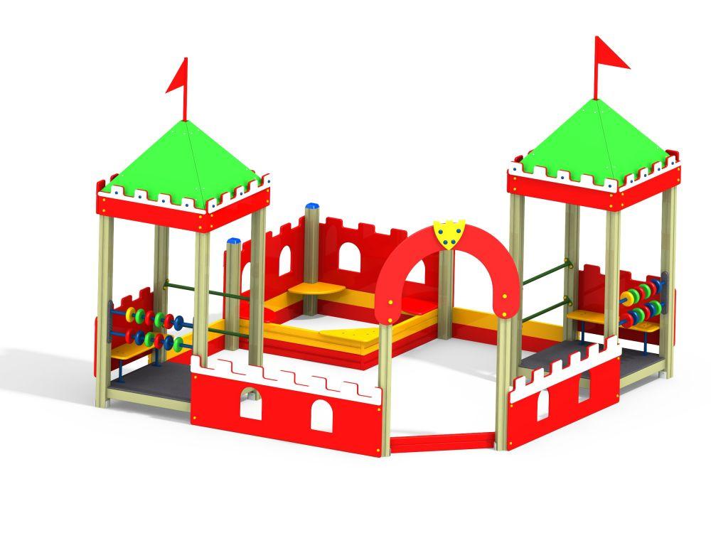 Песочный дворик без горки (-Цветовая схема)