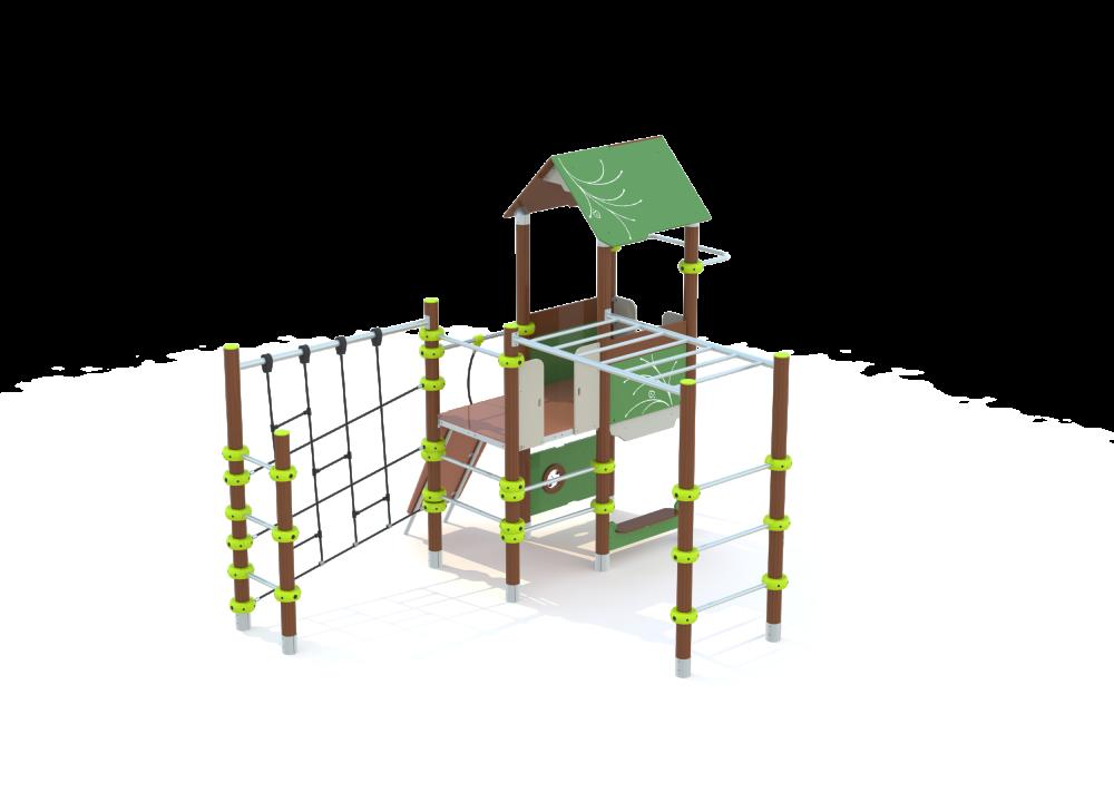Башни с лазалками и рукоходом