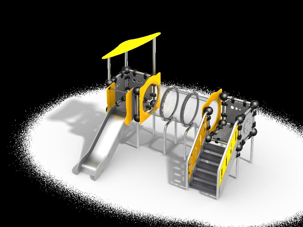 Прозрачный туннель цинк
