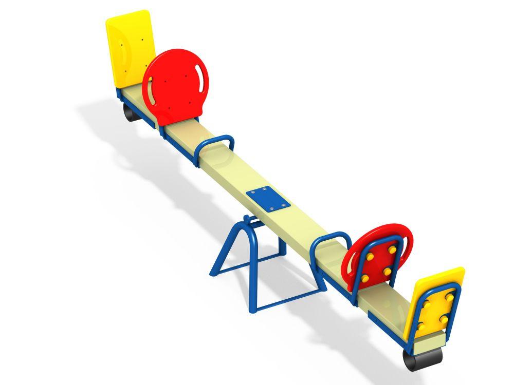 Качалка-балансир 4 местная (Цветовая схема -с26/8,32)