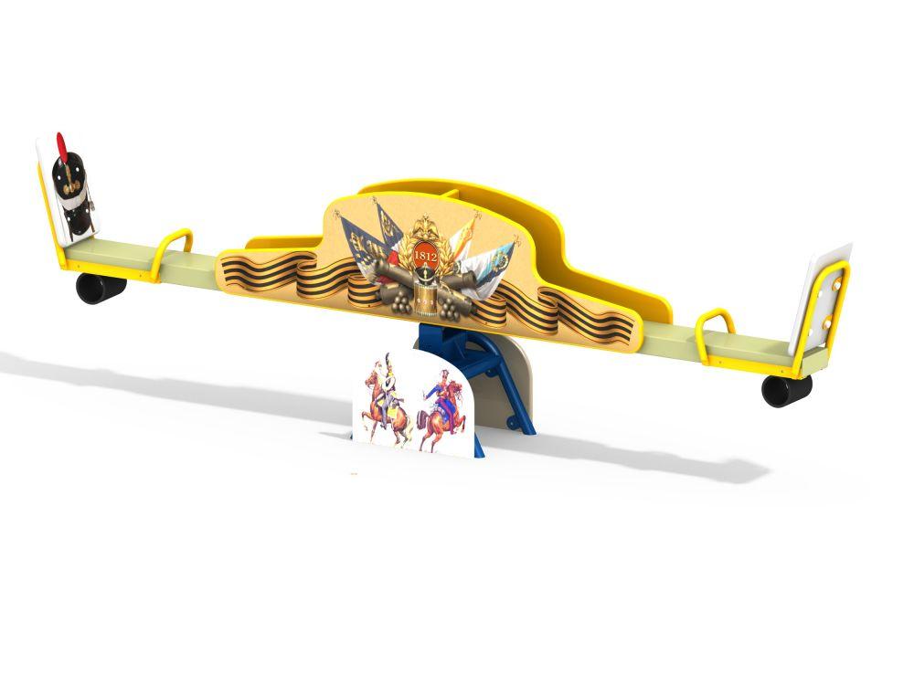 Качалка-балансир на шарнире (-Цветовая схема)