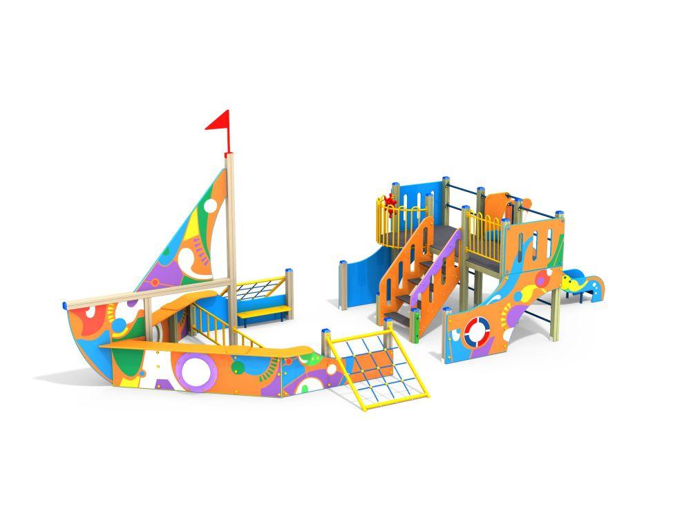 Детский игровой комплекс граффити Н 1200 мм (-Граффити)