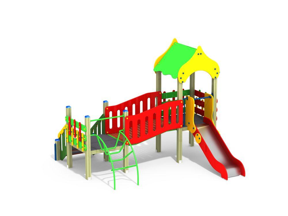 Детский игровой комплекс Н=900 мм (Цветовая схема -с26/8,32