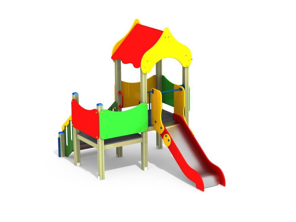 Детский игровой комплекс Н=900 мм (Цветовая схема -с26/8,32)