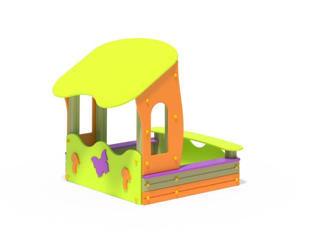 Песочница Боровичок (Цветовая схема -с26/8,32)
