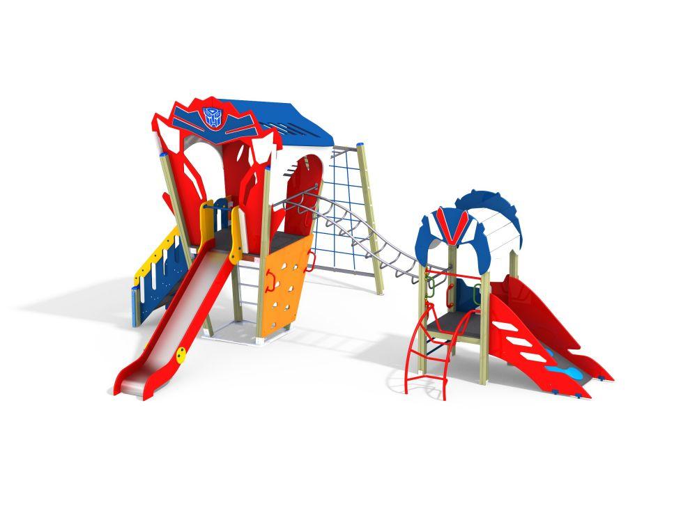 Детский игровой комплекс Н=700, 1500 (-Цветовая схема)