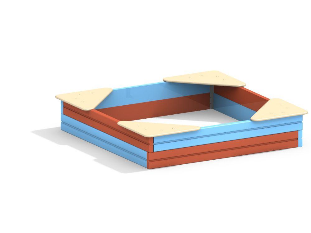 Песочница L=1500 мм (Цветовая схема -с26/8,32)