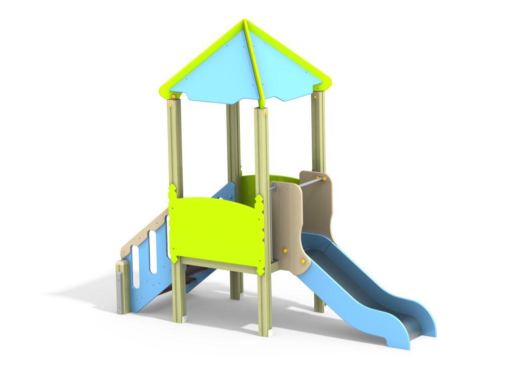 Детский игровой комплекс Н=700 (Цветовая схема -с26/8,32)