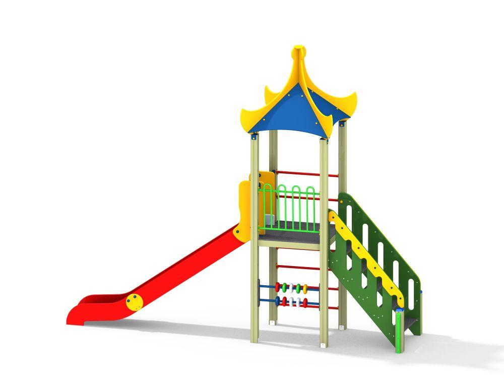 Детский игровой комплекс Н=1500 (Цветовая схема -16)