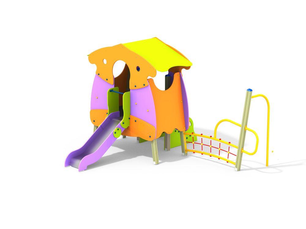 Детский игровой комплекс горка Н=900 (Цветовая схема -с26/8,32)