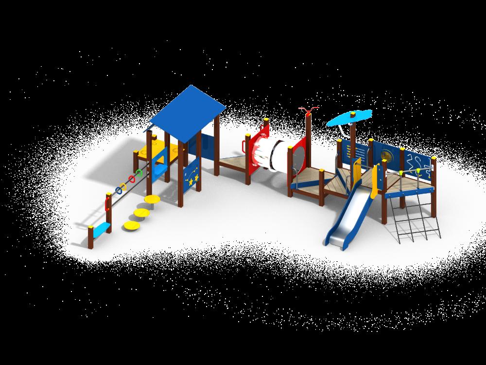 Детский игровой комплекс Н=900