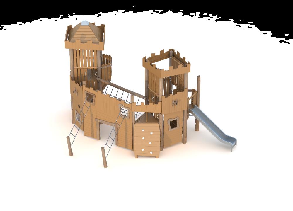 Замок (5 м) средний